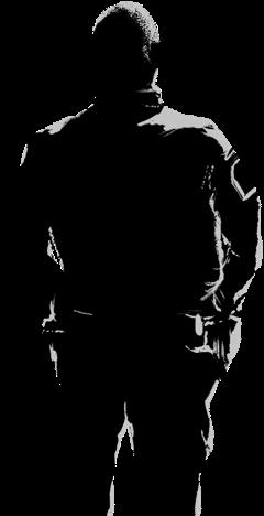 karaktär svart vit